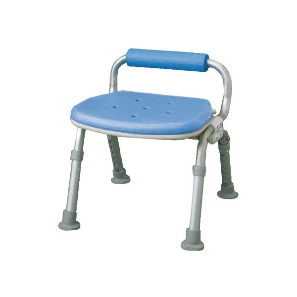 介護用 風呂椅子 シャワーチェア[ユクリア]コンパクト腰当付おりたたみ(シャワーチェア バスチェアー 介護用風呂椅子 シャワーベンチ 介護用品  高齢者用 老人用  )