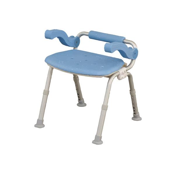 介護用 風呂椅子 シャワーチェア[ユクリア]ミドルSP腰当付おりたたみ (シャワーチェア バスチェアー 介護用風呂椅子 シャワーベンチ 介護用品  高齢者用 老人用  )