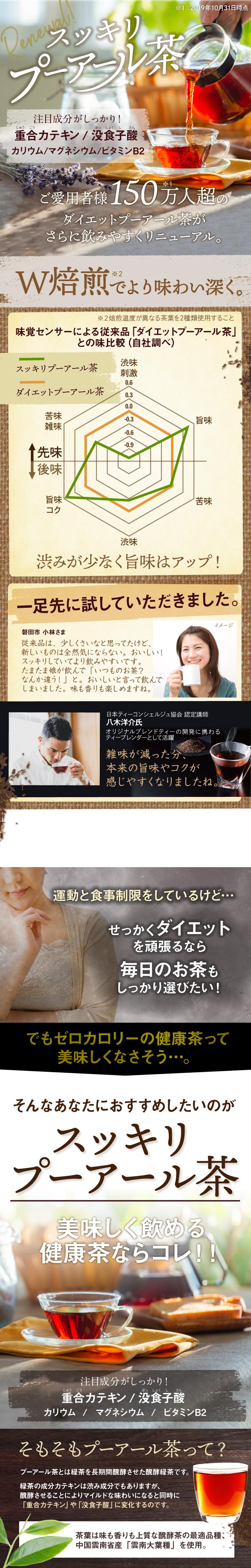 茶 注意 プーアル