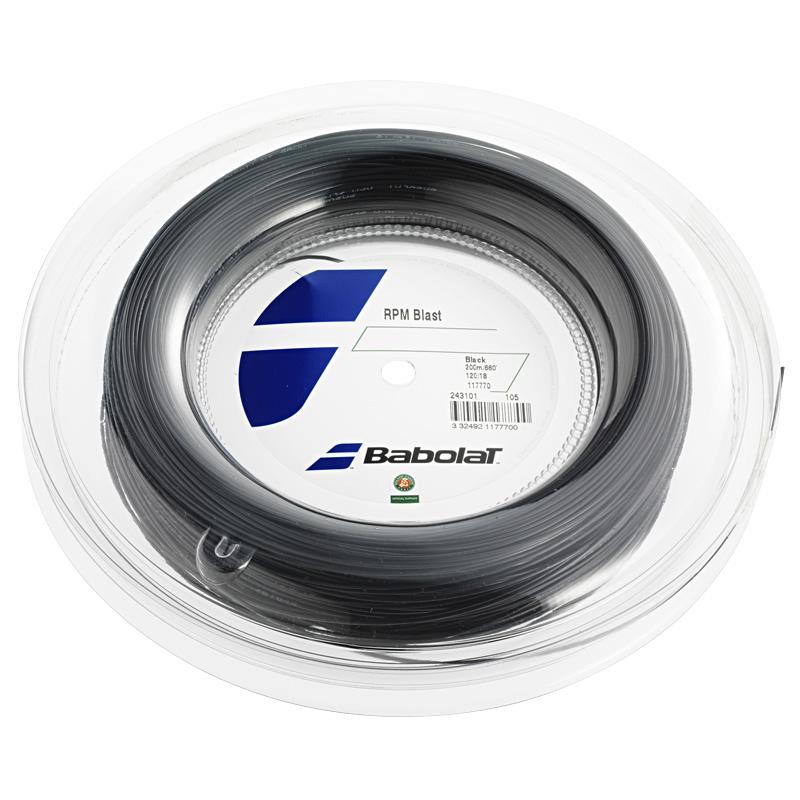 バボラ RPMブラスト(120/125/130/135) 200Mロール 硬式テニス ポリエステル ガット Babolat RPM Blast(200m roll strings)ポリガット