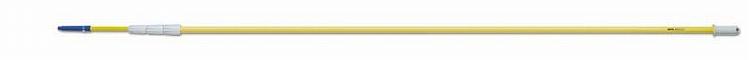 高所 リーチポール カーボングラスファイバーポール(4段×2.5m) セイワ TLG-465 1本