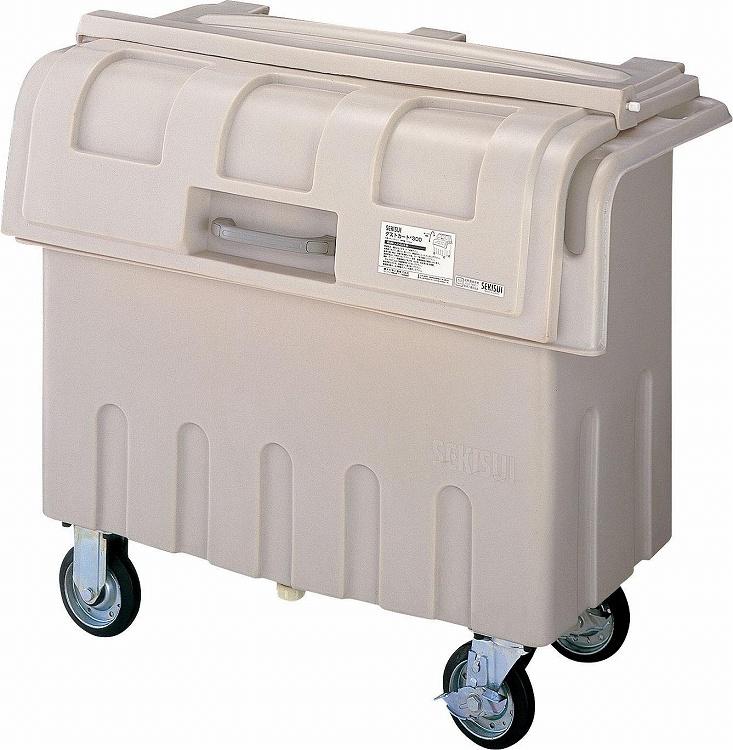 ゴミ箱 収集箱 ダストカート #300 山崎産業 YD-138L-PC