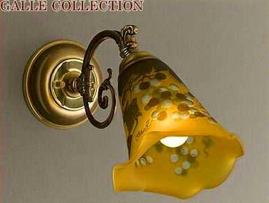 AGL-4112AB1GR アカネライティング・ガレコレクション GALLE COLLECTION ガレ・コレクション NEW GRAPE(ニューグレープ) ブラケット アンティークブロンズ