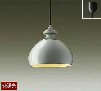 DPN-38893Y DAIKO コード吊ペンダント [LED電球色][ペールグレー]
