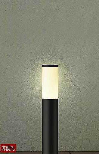 DWP-39631Y DAIKO アウトドアポールライト [LED電球色][ブラック]
