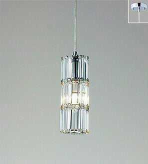 ERP7303S ENDO クリスタルビーズ コード吊ペンダント [LED電球色]