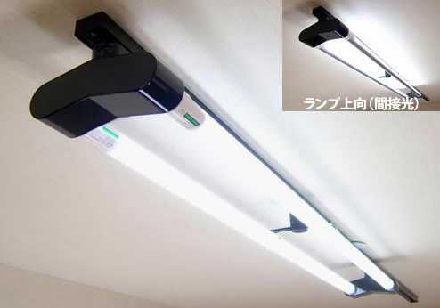 KRS-2A-BK-SET-N カメダデンキ カメダレールソケットW昼白色LEDランプセット 配線ダクト用LEDベースライト2灯タイプ [LED昼白色ブラック] あす楽対応