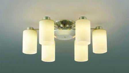 AA40056L コイズミ照明 Simprare-Dimmer シンプラーレ 調光タイプ 直付シャンデリア [LED電球色][~8畳]