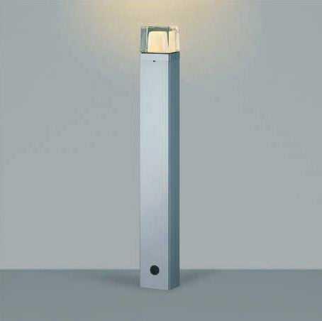 AU42270L コイズミ照明 アウトドアポールライト [LED電球色][シルバーメタリック]