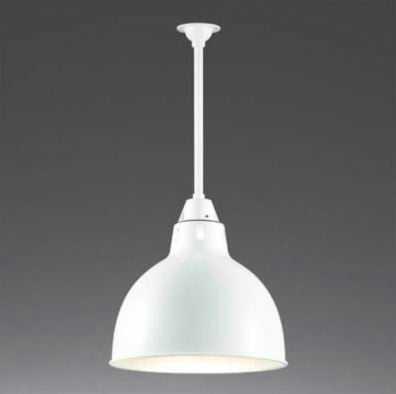 ML30105-01-90 マックスレイ アルミセード パイプ吊シーリングライト [LED電球色][ホワイト]