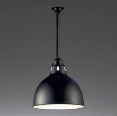 ML30105-02-90 マックスレイ アルミセード パイプ吊シーリングライト [LED電球色][ブラック]