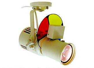 NHP-5561P 株式会社 日照 直付式 65Wピンスポット・ミラーボール照射器 (自動カラーホイル付)