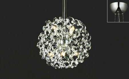 【送料無料】 OC257006LC オーデリック METAL LUX 調光可能型 ワイヤー吊シャンデリア [LED電球色]