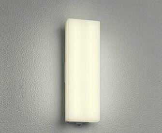 OG254245 オーデリック 人感センサ付 アウトドアポーチライト [LED電球色][シルバー]