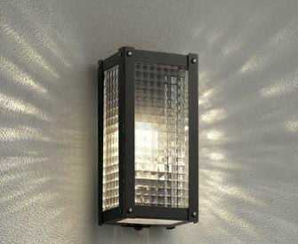 OG254487LC オーデリック 人感センサ付 アウトドアポーチライト [LED電球色][ブラック]