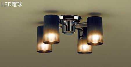 LGB57451K パナソニック ブラックニッケル [LED電球色] パナソニック 直付シャンデリア LGB57451K [LED電球色], 茨城県:94fe43c1 --- lg.com.my