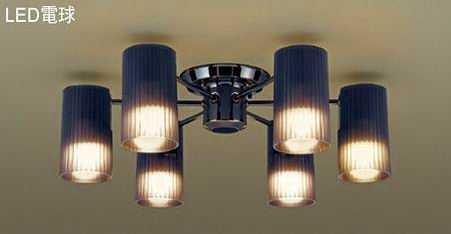 LGB57671K パナソニック ブラックニッケル 直付シャンデリア [LED電球色]
