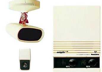 EL310482 パナソニック ハイハイ店番4パック(エコー方式) 屋内用 本体・検知器・電源コード・押ボタン・3芯コードのセット