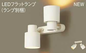 XAS3380LCE1 パナソニック 100形 スポットライト 直付型(2灯タイプ) [電球色][集光][拡散]
