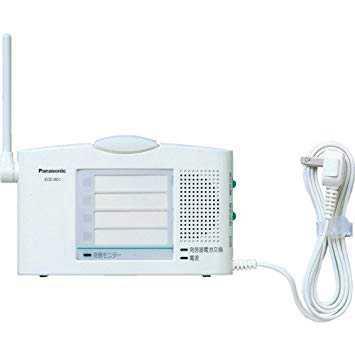 ECE1601P パナソニック 小電力型 ワイヤレスコール 卓上受信器 (受信4表示付)