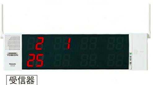 ECE3102K パナソニック YOBION 小電力型 ワイヤレスサービスコール 受信器(マルチタイプ)