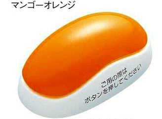 ECE3346J01 パナソニック YOBION 小電力型 ワイヤレスサービスコール 発信器 (1.5秒長押し消去機能付) ファンシー(マンゴーオレンジ)