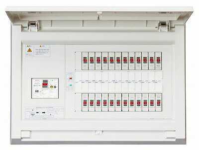 MAG34062 テンパール 住宅用分電盤 パールテクト 扉付/リミッターなし/主幹40A/分岐6/予備2/取付スペースなし/露出・半埋込形