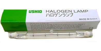 J100V100WG USHIO 両口ハロゲンランプ ショップ 新作入荷 J標準タイプ 100V用R7S 100W