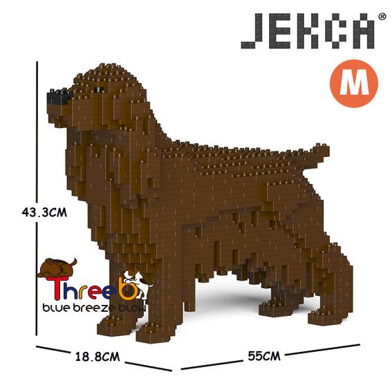 JEKCA ジェッカブロック (Mサイズ) イングリッシュ·コッカー·スパニエル CM19PT24-M04