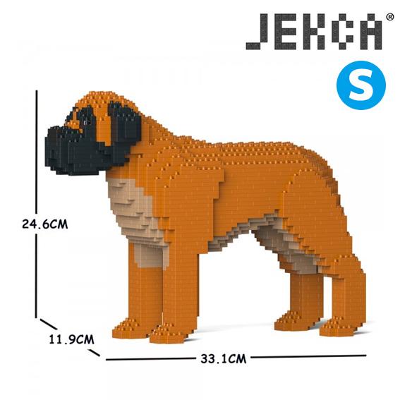 JEKCA ジェッカブロック (Sサイズ) イングリッシュ・マスティフ ST19PT70-M02