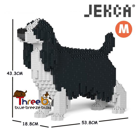 JEKCA ジェッカブロック (Mサイズ) イングリッシュ・スプリンガー・スパニエル CM19PT42-M02