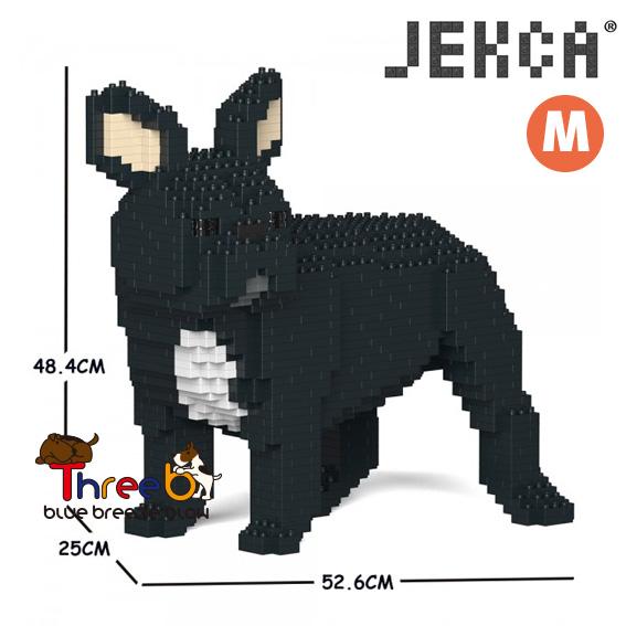 JEKCA ジェッカブロック (Mサイズ) フレンチ・ブルドッグ CM19FB03-M03
