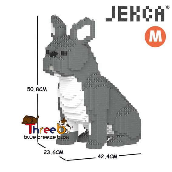 JEKCA ジェッカブロック (Mサイズ) フレンチ・ブルドッグ CM19FB04-M05