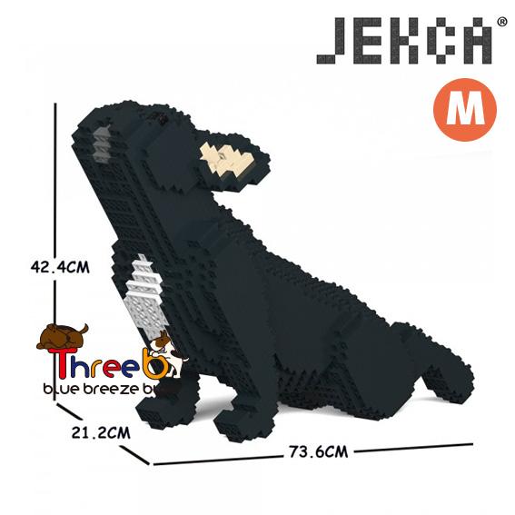 JEKCA ジェッカブロック 流行のアイテム ホビー パズル 立体パズル ブロック ThreeB WEB限定 ブルドッグ 05C CM19FB05-M03 フレンチ Mサイズ スリービー
