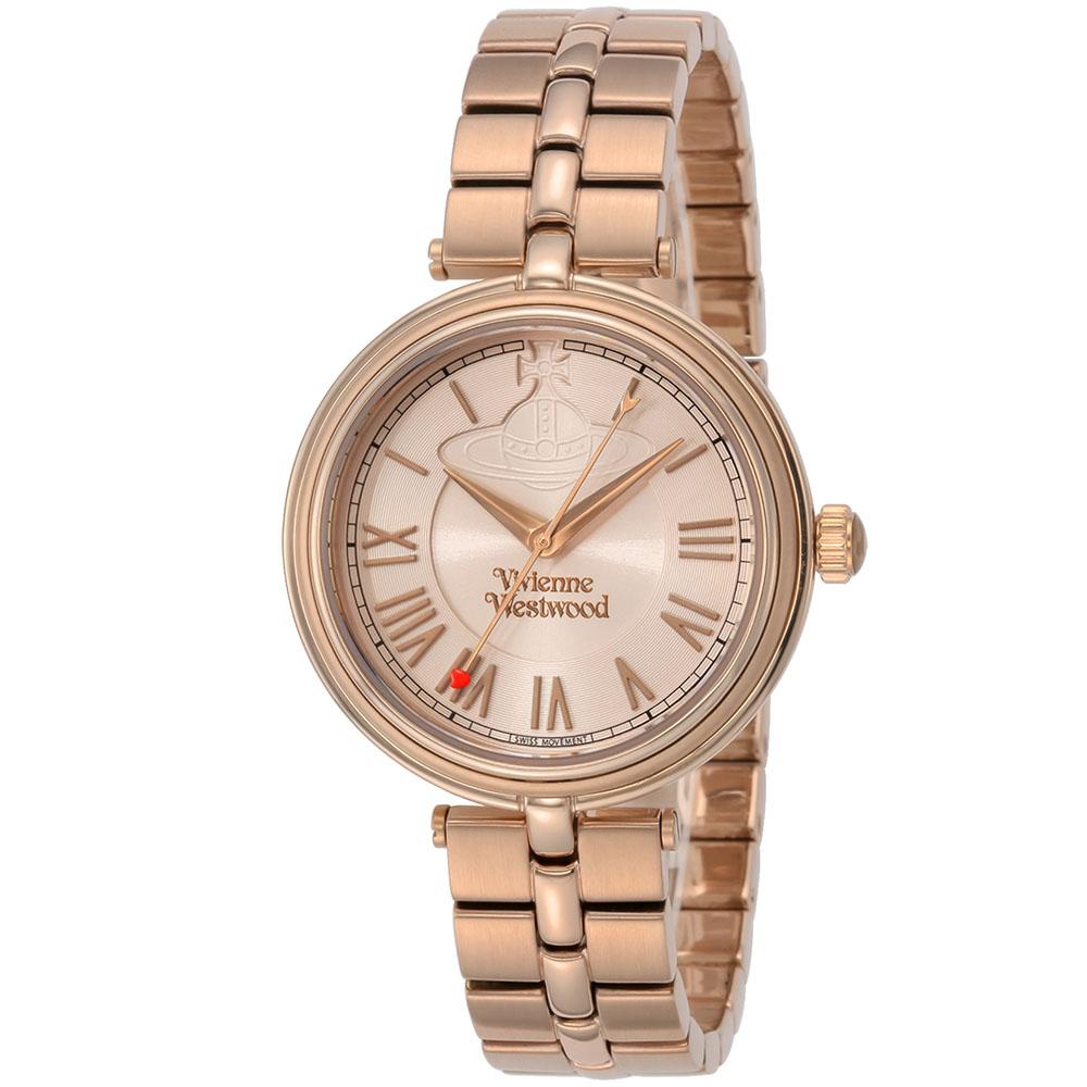 Vivienne Westwood ヴィヴィアン・ウエストウッド Farringdon (ファリンドン) VV168NUNU 腕時計 レディース