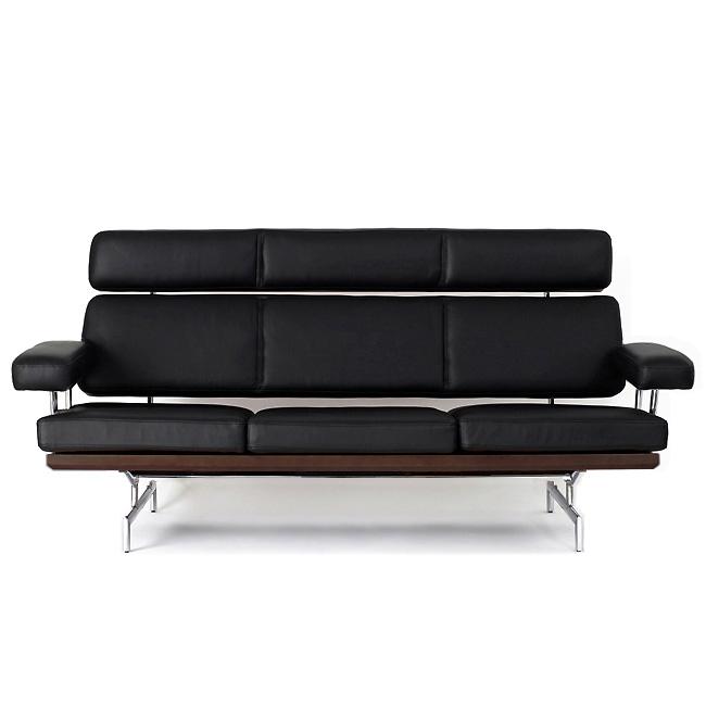 Timus Charles Amp Ray Eames Classic Sofa Three Seat Daiva 3 P