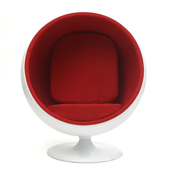 エーロ・アールニオデザイン ボールチェア