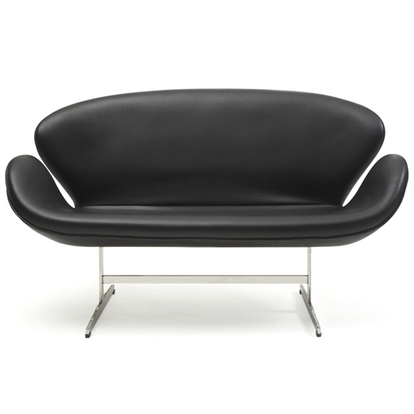Arne Jacobsen Design Swan Sofa Total Real Leather