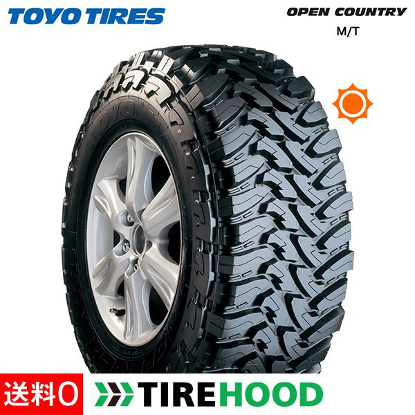 トーヨータイヤ オープンカントリー M/T LT265/70R17 タイヤ単品1本 サマータイヤ