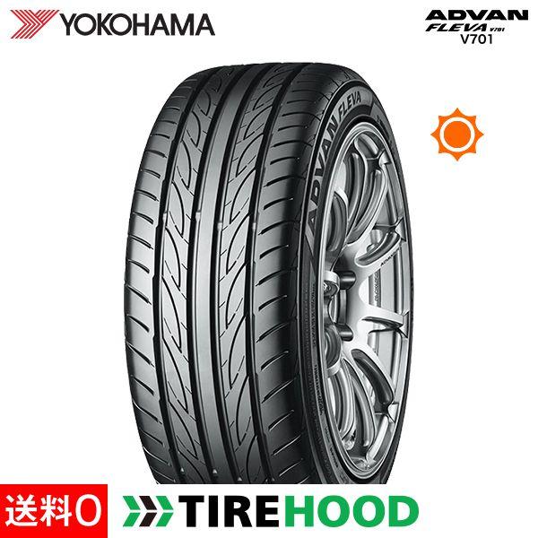 ヨコハマ アドバン フレバ V701 165/50R16 75V タイヤ単品1本 サマータイヤ