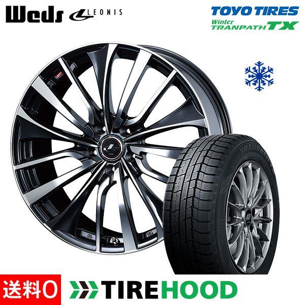 スタッドレスタイヤ ホイールセット 205/60R16 トーヨータイヤ ウィンタートランパス TX 4本セット レオニス