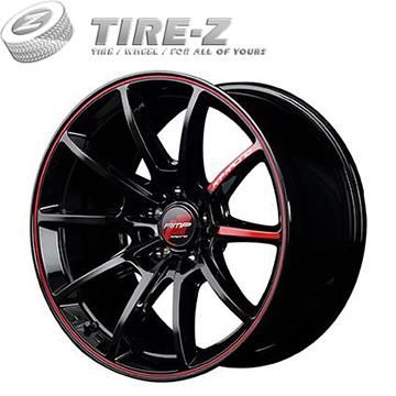 【取付対象】215/40R18 18インチ MID RMP レーシング R25 7.50-18 ヨコハマ ブルーアース GT AE51 サマータイヤホイール4本セット