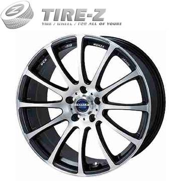 【取付対象】225/50R18 18インチ モンツァ エコテック MCM-012 8.00-18 ヨコハマ ブルーアース GT AE51 サマータイヤホイール4本セット