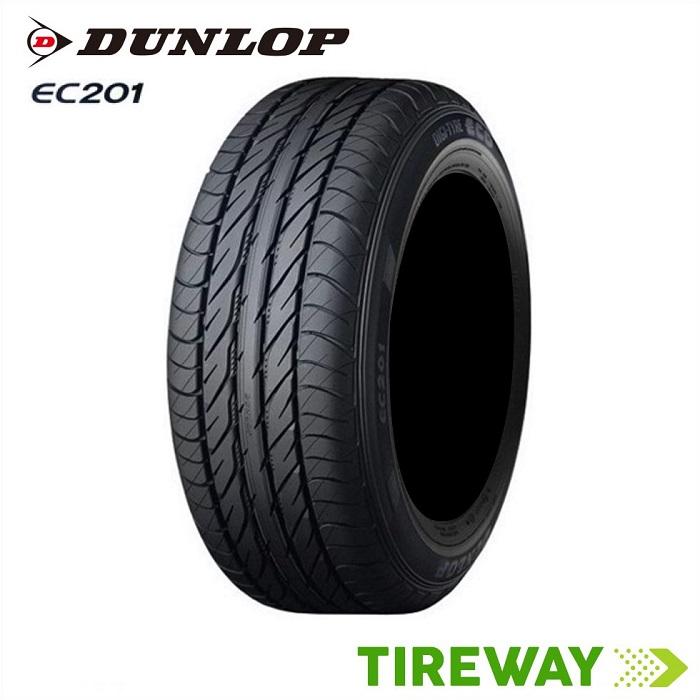 送料無料 訳あり商品 新品4本 新品タイヤがいつでも安い タイヤウェイ 4本 サマータイヤ ECO EC201 74S 145 卸売り ダンロップ 80R12