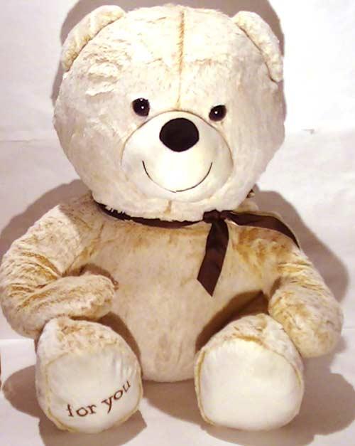 ふわふわ クマのぬいぐるみ マックス・特大 Lサイズ 2329-10