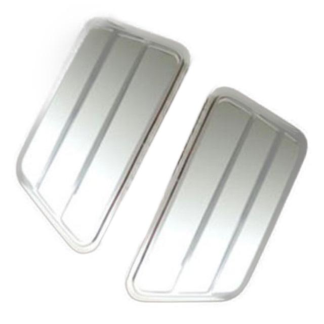 AS メッキ寝台窓ガーニッシュ L/R ふそう大型スーパーグレート(H8.6~ ●新型OK) 用 ※樹脂メッキ