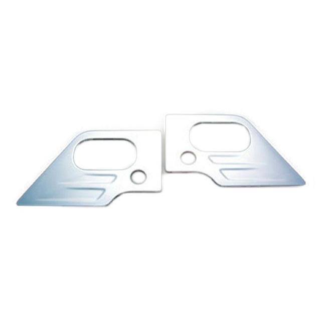 AS ドアグリップガーニッシュ L/R いすゞ2t NEWエルフ(H5.7~H16.5) 標準/ワイド共用