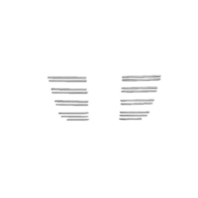 BW ビレットグリル(バンパー) いすゞ大型 NEWギガ(H22.5~H27.10) ステンレス 交換式 [3011232]