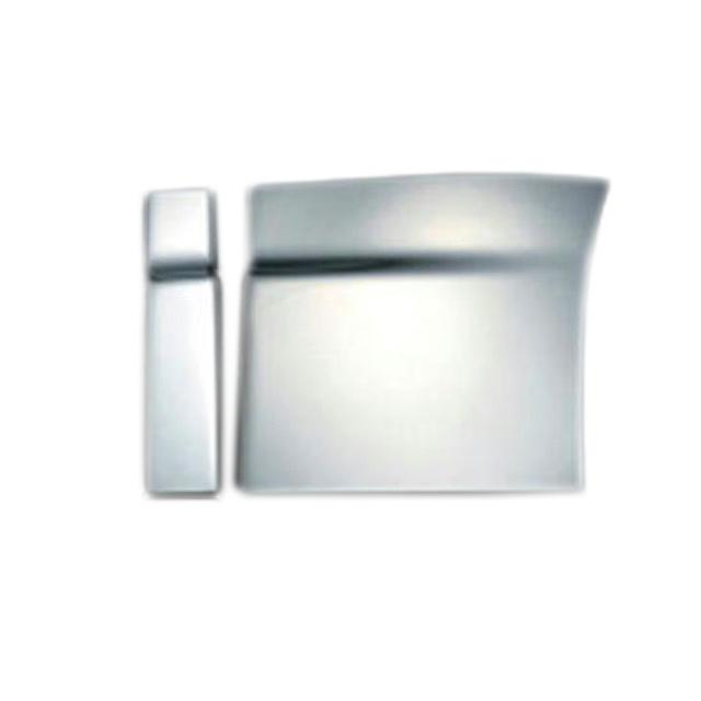 BW ステップカバー 3分割セット 日野大型 NEWプロフィア(H15.11~H29.4) 用 樹脂メッキ かぶせ式 [3126011]