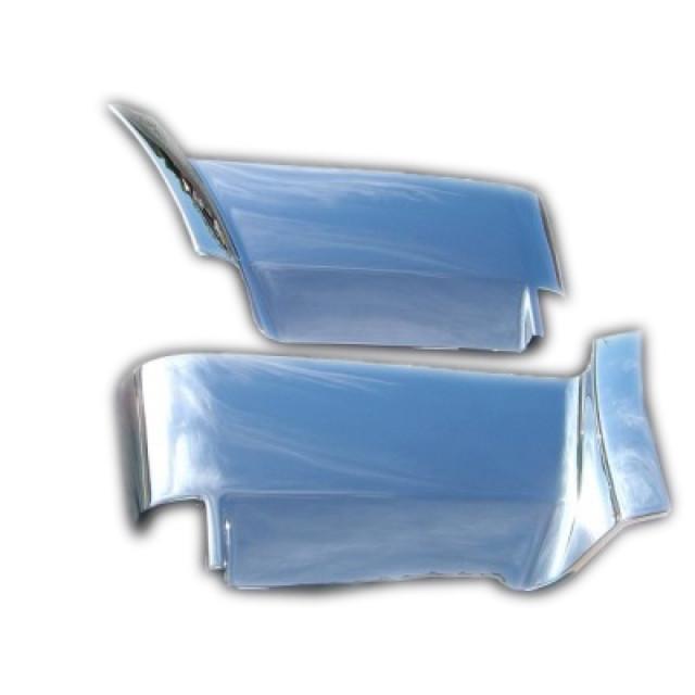 [お取寄せ] BW ステップカバー アッパー L/R ふそう大型 NEWスーパーグレート(H19.4~H29.4) 樹脂メッキ かぶせ式 [3126059]